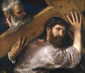 Christ Carrying the Cross'', oil on canvas painting by Titian, 67 x 77 cm, c. 1565. Museo Nacional del Prado}} |Source =Museo Nacional del Prado |Author =Titian |Date =c. 1565 |Permission