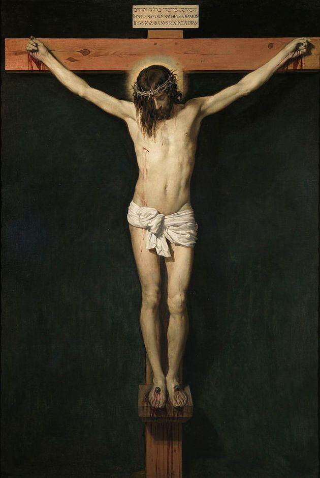 Cristo Crucifado by Diego Velásquez