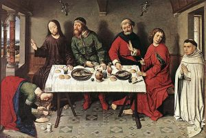 Christ in the House of Simon by Dieric Bouts