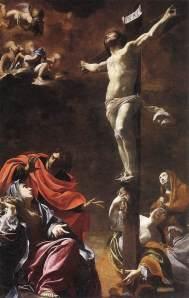 (1622) by Simon Vouet; Church of Jesus, Genoa
