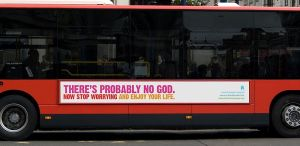 Atheist Bus Campaign , via Dan Etherington from London, UK